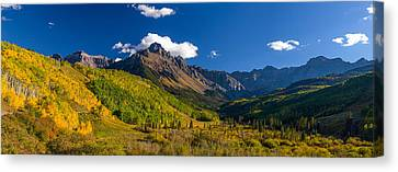 Metalic Canvas Print - Cr 234 by Darren  White