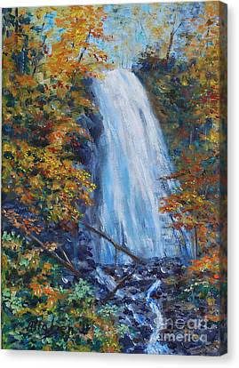 Crab Apple Falls Canvas Print