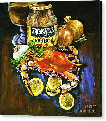 Crab Fixin's Canvas Print