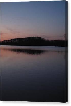 Crab Orchard Lake At Peace - 1 Canvas Print