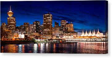Crab Park At Portside Canvas Print by Alexis Birkill
