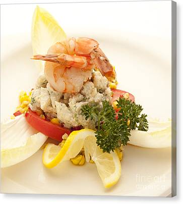 Crabmeat Canvas Print by New  Orleans Food