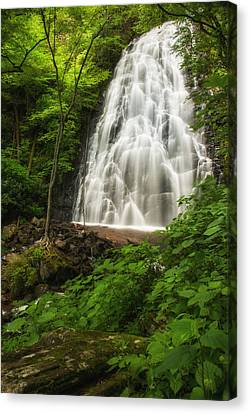 Crabtree Falls Canvas Print by Photography  By Sai