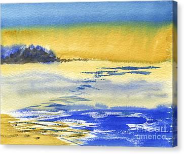 Crack Of Dawn Canvas Print