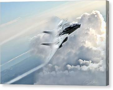 Storm Canvas Print - Crack The Sky by Peter Chilelli