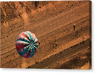 Balloon Festival Canvas Print - Cracked Highway by Keith Berr