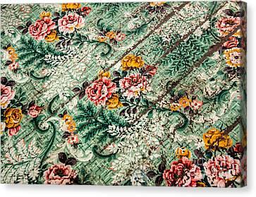 Cracked Linoleum Canvas Print by Sue Smith