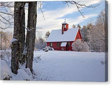 Canvas Print featuring the photograph Craftsman's Barn by Larry Landolfi