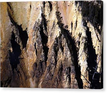 Crag Canvas Print by Tarey Potter