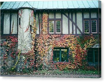 Cranbrook In The Fall Canvas Print by Cynthia Hilliard
