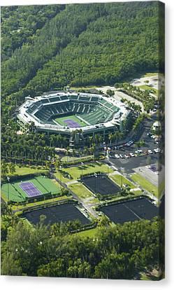 Crandon Park Tennis Center Canvas Print by Celso Diniz