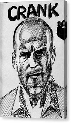 Jason Statham Canvas Print by Salman Ravish