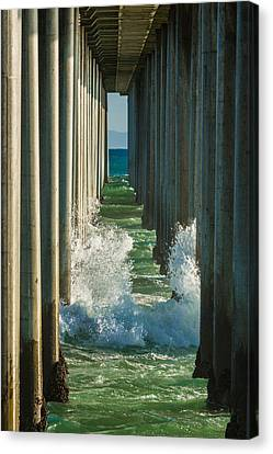 Turquois Water Canvas Print - Crash by Scott Campbell