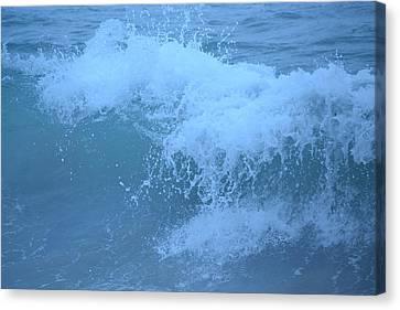 Crashing Wave Canvas Print by Kiros Berhane