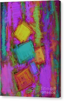 Crashover Canvas Print by Keith Mills