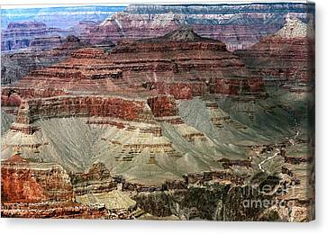 Northern Arizona Canvas Print - Crater Colors by John Rizzuto