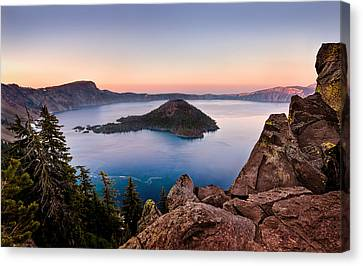 Glow Canvas Print - Crater Lake National Park by Alexis Birkill