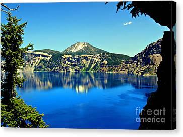 Crater Lake Oregon Canvas Print