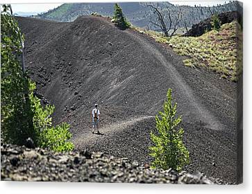 National Preserves Canvas Print - Craters Of The Moon Hiking Trail by Jim West
