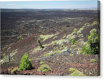 National Preserves Canvas Print - Craters Of The Moon Landscape by Jim West