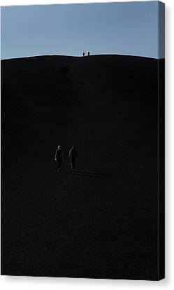 National Preserves Canvas Print - Craters Of The Moon Volcanic Cone by Jim West