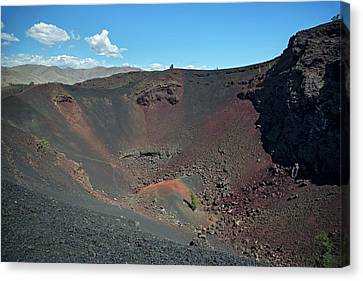 National Preserves Canvas Print - Craters Of The Moon Volcanic Crater by Jim West
