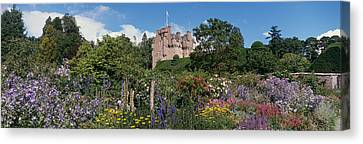 Crathes Castle Scotland Canvas Print by Panoramic Images