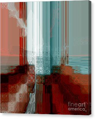 Crave To Receive Canvas Print by Fania Simon