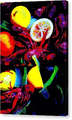 Craw Daddies  Canvas Print
