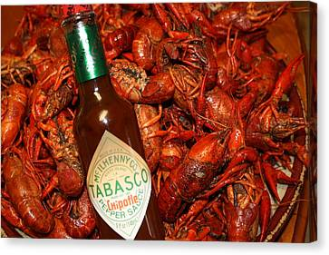 Crawfish And Tabasco Canvas Print