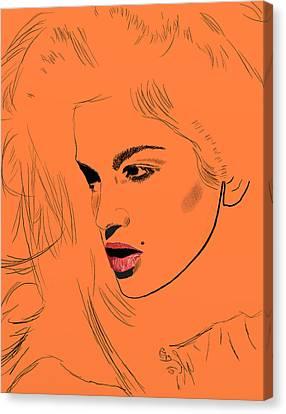 Crawford Orange Canvas Print by GCannon