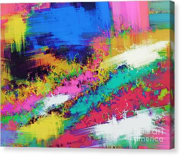 Crawl Canvas Print by Keith Mills
