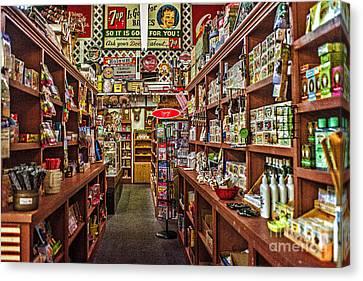 Crawley General Store Canvas Print