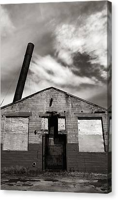 Crazy Old Building Canvas Print