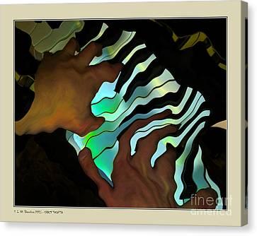 Crazy Tocatta Canvas Print by Pedro L Gili