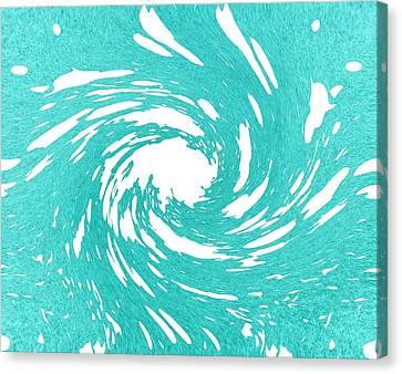 Cream 2 Canvas Print by Dan Sproul