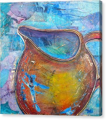 Cream No Sugar Canvas Print by Debi Starr