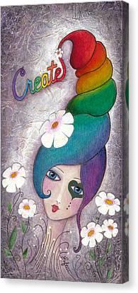 Create Canvas Print by Joann Loftus