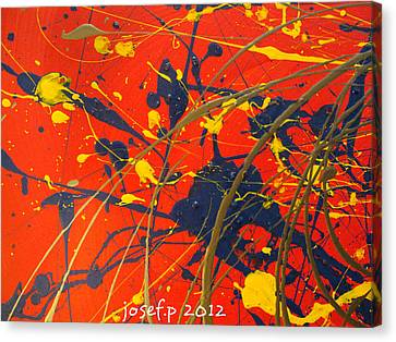 Creating Life Part One Canvas Print by Sir Josef - Social Critic - ART