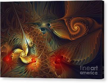 Creation-abstract Fractal Art Canvas Print