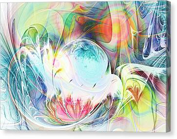 Creation Canvas Print by Anastasiya Malakhova