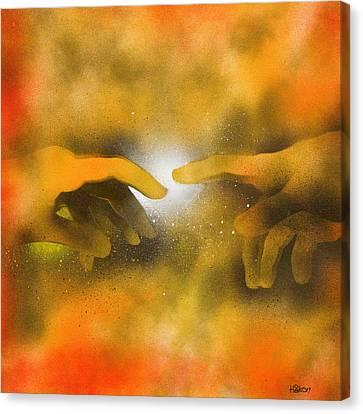 Creation Canvas Print by Hakon Soreide