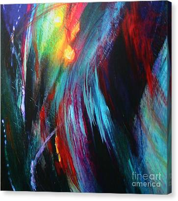 Canvas Print featuring the painting Creation by Jeanette French