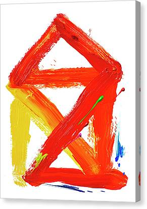 Psychiatric Canvas Print - Creative Therapy by Smetek