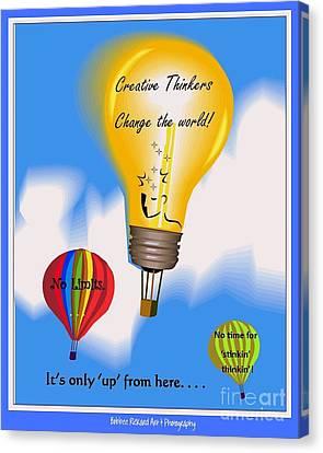 Creative Thinkers Canvas Print by Bobbee Rickard