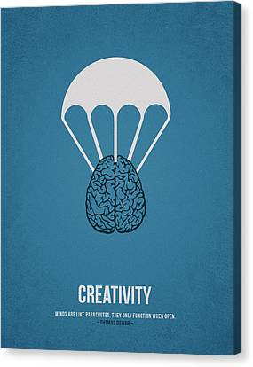 Creativity Canvas Print by Aged Pixel