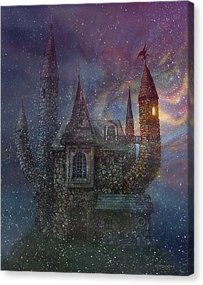 Creativity Castle Canvas Print by Frank Robert Dixon