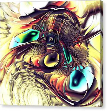 Creature Canvas Print by Anastasiya Malakhova