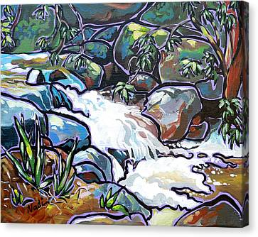 Creek Canvas Print by Nadi Spencer