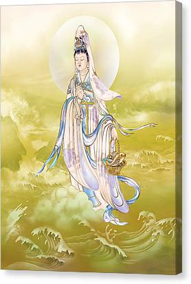 Creel Kuan Yin Canvas Print by Lanjee Chee